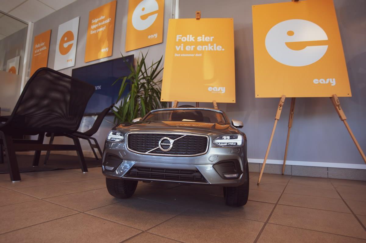 Volvo modell på Easybruktbil