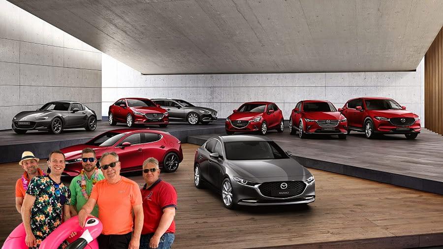 Flere Mazda modeller