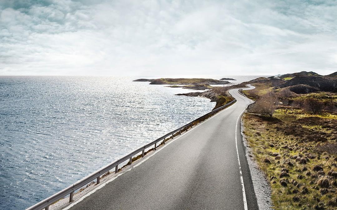 Vei langs havet