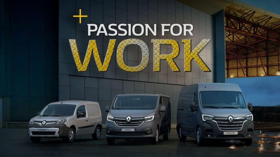 Bilde av varebil fra Renault