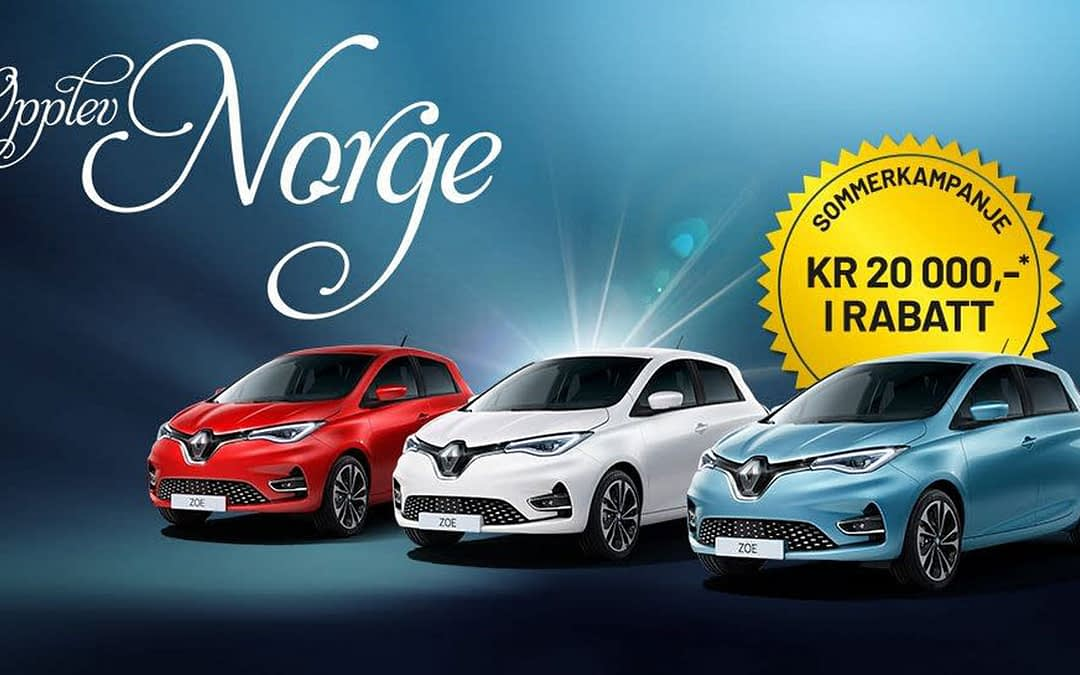 Renault ZOE – Sommerkampanje