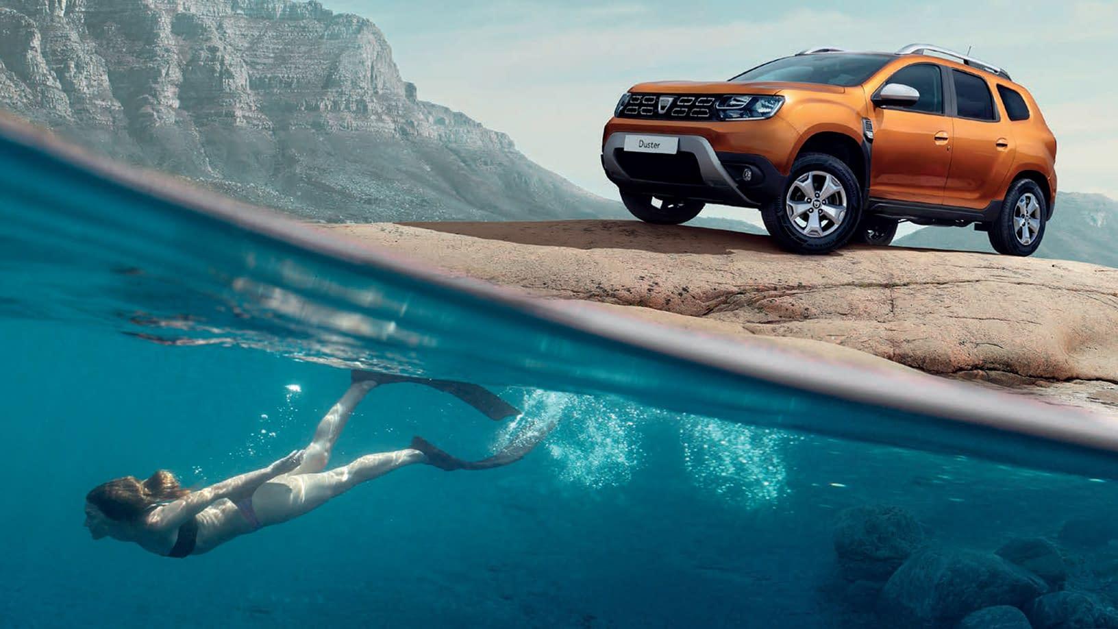 Dacia selges hos BilService og bilSpiten. Vi har både nye og brukte Dacia til salgs.