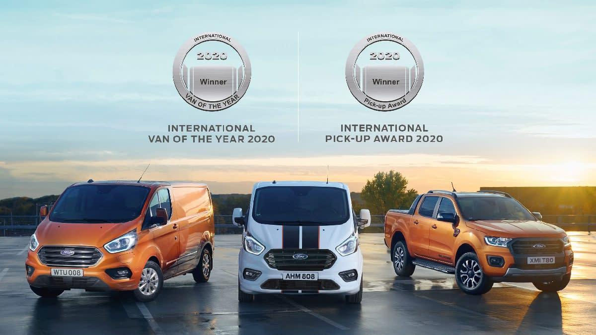 Bilde av varebil fra Ford