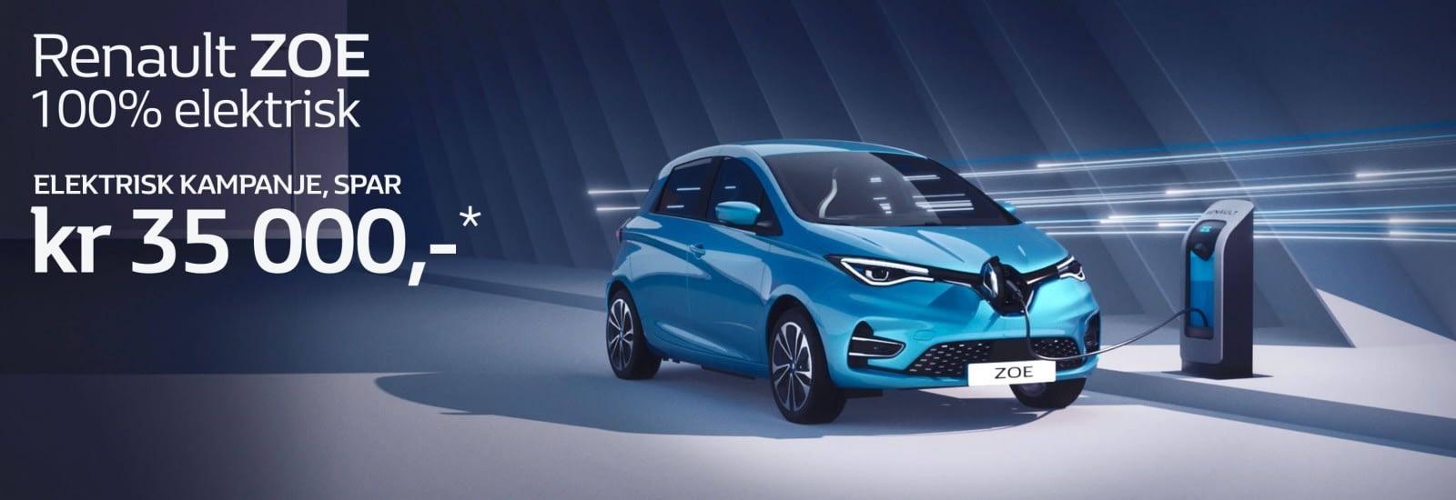 Renault Zoe elektrisk kampanje