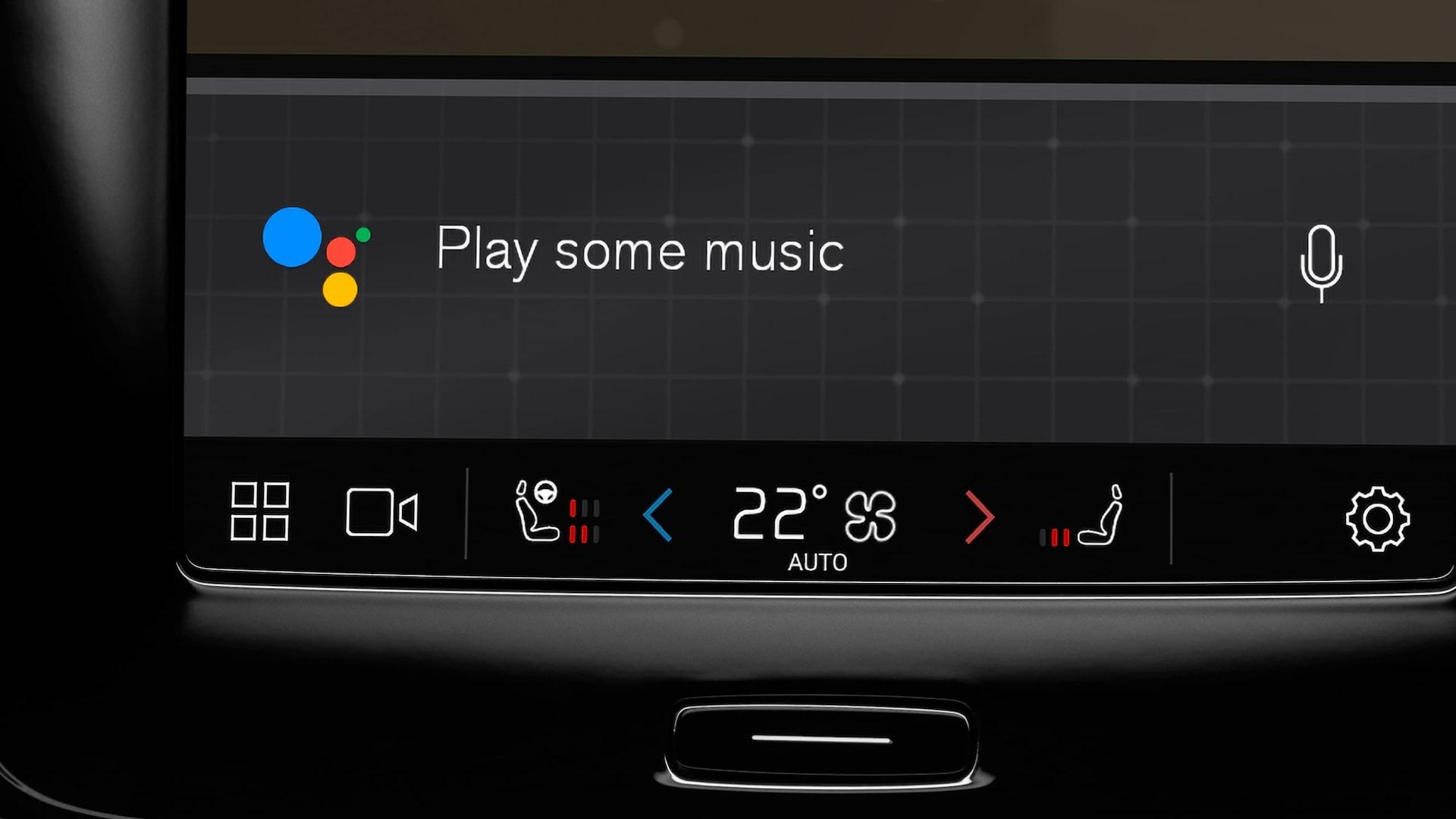 Volvo XC40 Google play