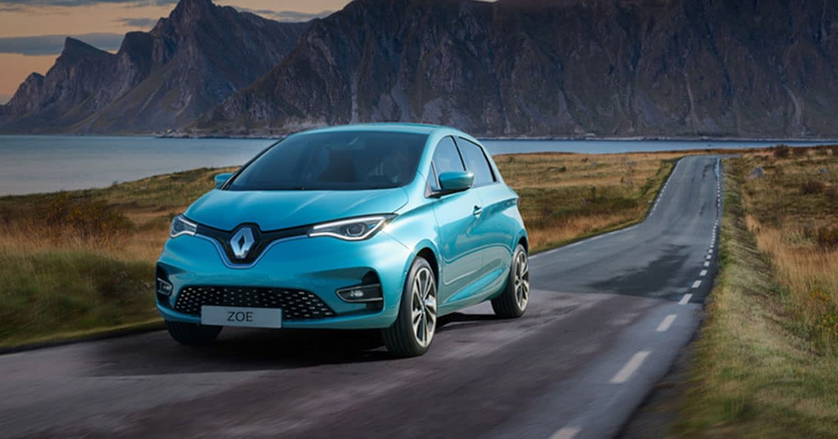 Renault Zoe på landeveien