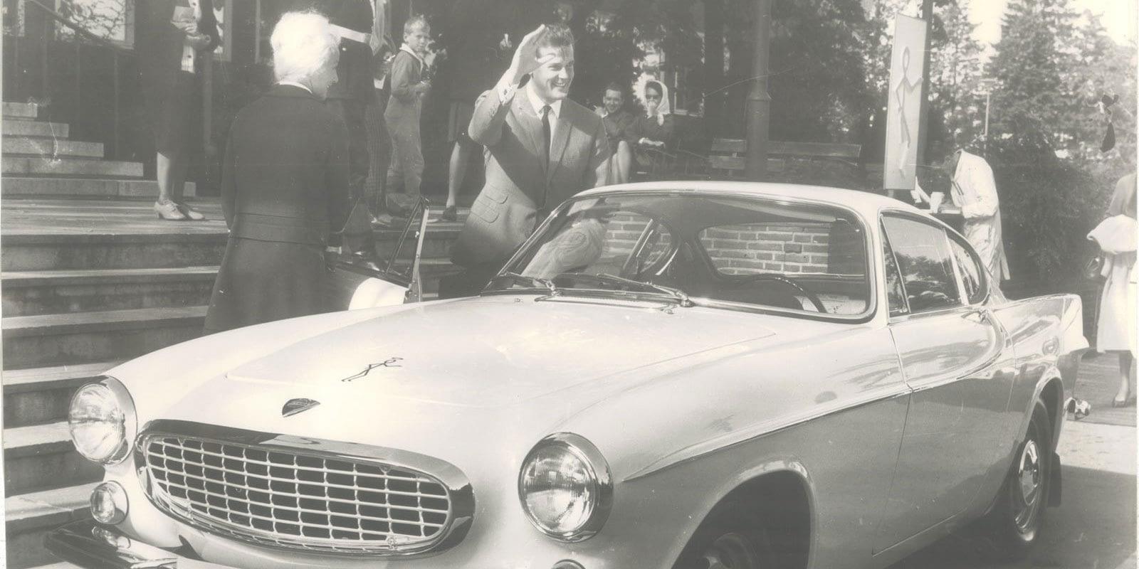 Historisk bilde fra Bilservice - les mer om oss på denne siden