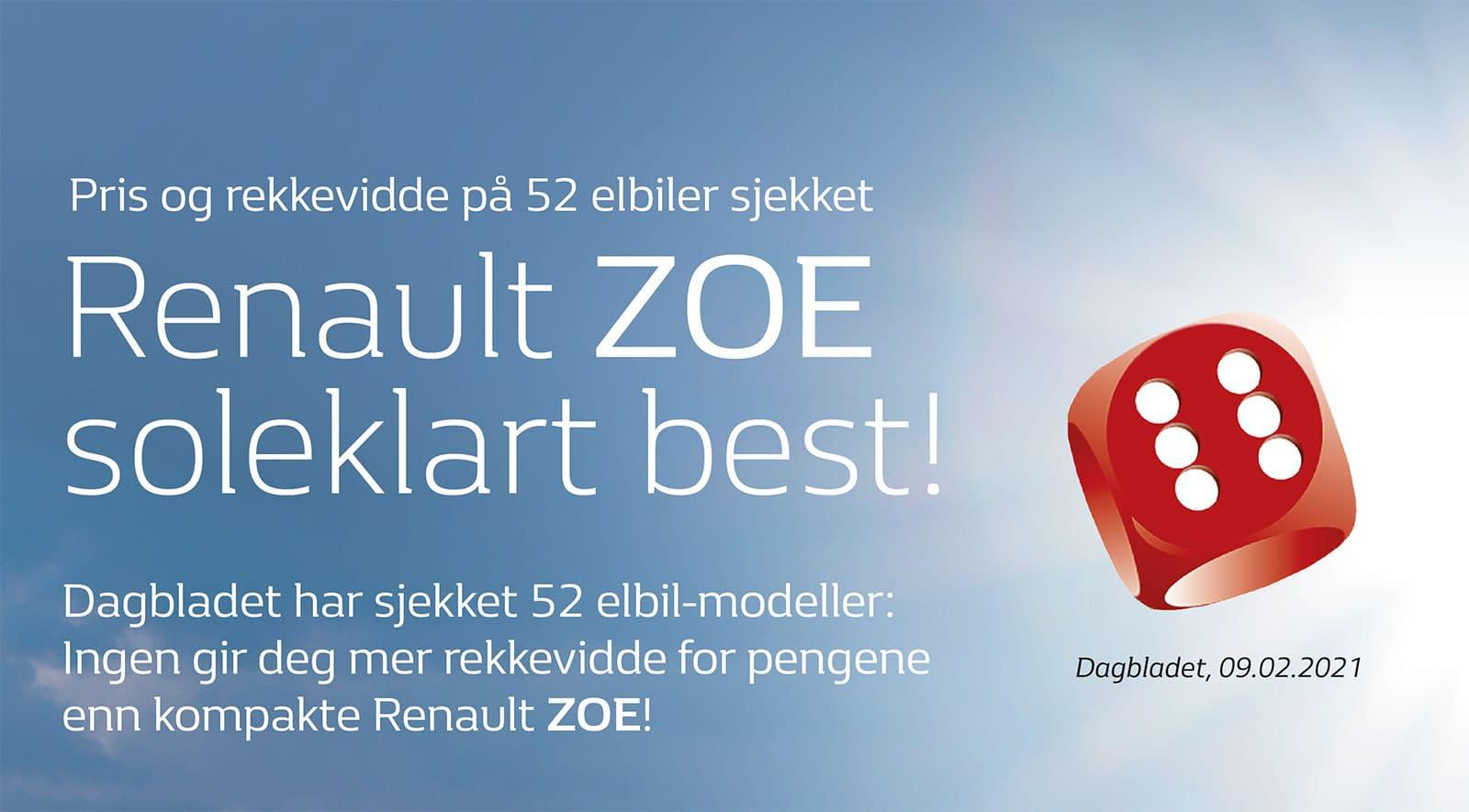Renault Zone soleklar vinner test