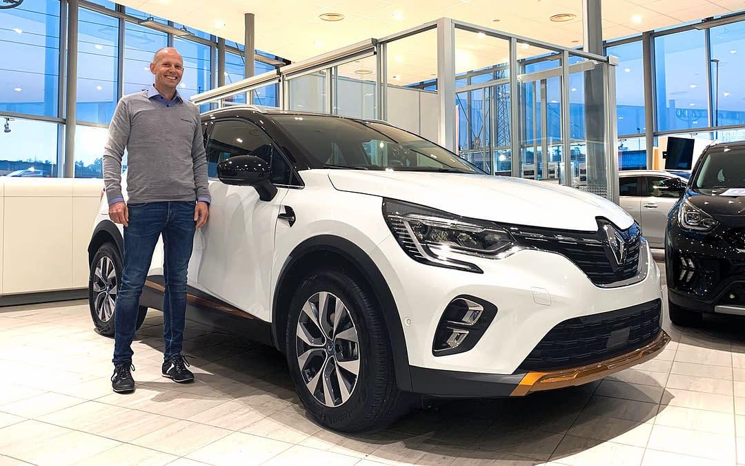 Renault Captur Plug-in hybrid lanseringskampanje