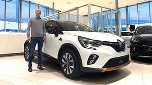 Renault Captur Plug-in hybrid leasingkampanje