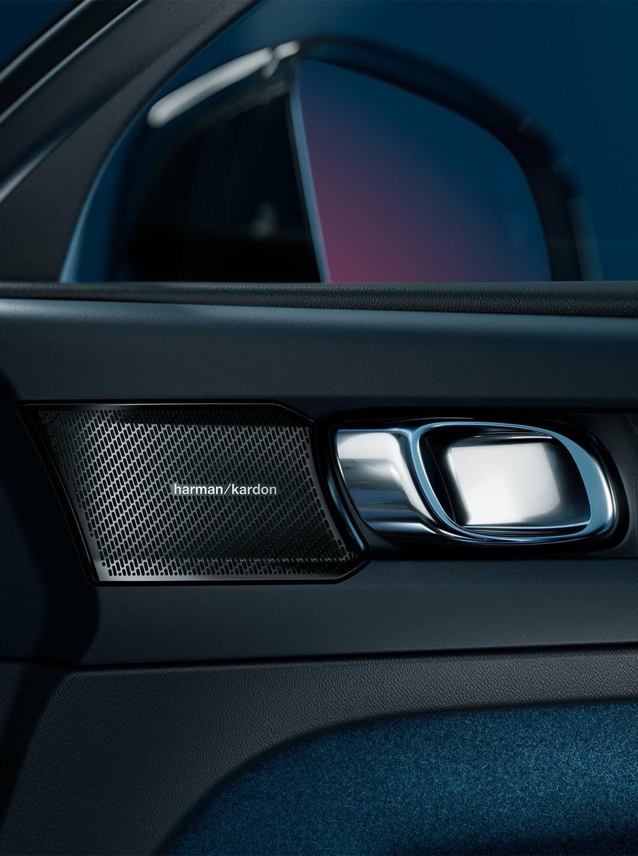 Volvo C40 recharge interiør dør