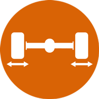 Hjulstiling ikon