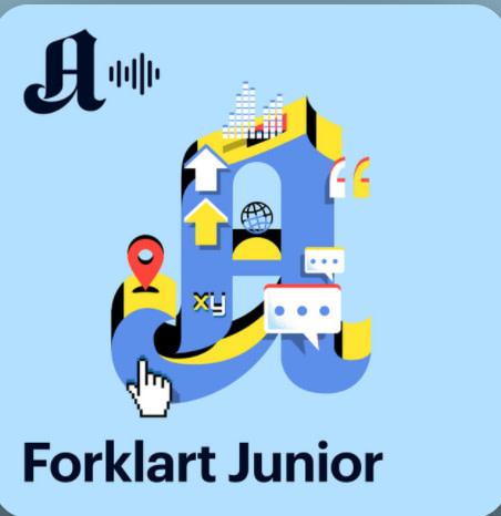 Forklart Junior pod cover