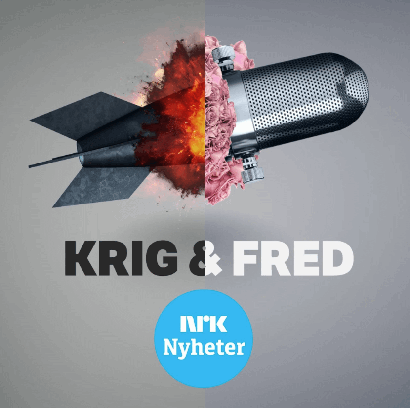 Krig & fred pod cover